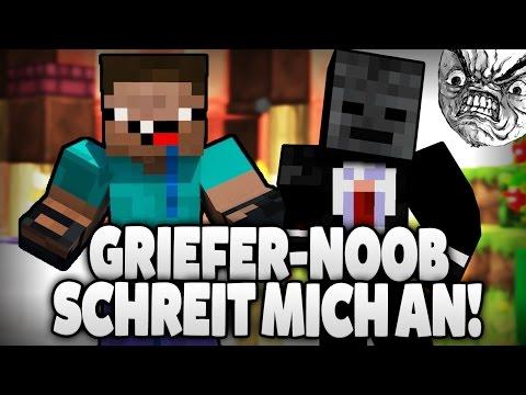 PAULBERGER GRIEFER WIRD GEÄRGERT UND SCHREIT XD - GRIEFER GRIEFT MICH! Part 1