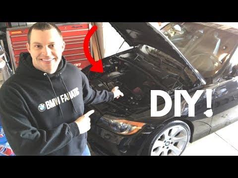 BMW 335i N54 Valve Cover Gasket POV DIY!!