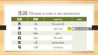 Китайский язык для начинающих. Урок 1. Учимся приветствовать на китайском языке.