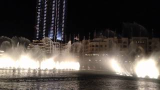 Thriller Micheal Jackson - Dubai Fountain