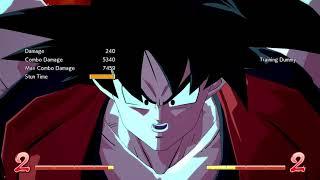 DBFZ: Base Goku BnB combos - w/ Android 21