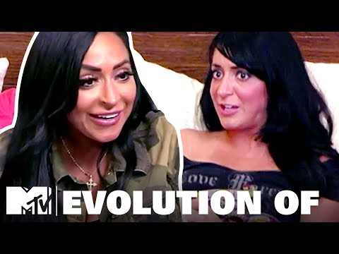 The Evolution Of Angelina | Jersey Shore