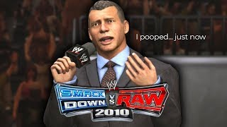 "WWE Smackdown vs Raw 2010 - ""VINCE"