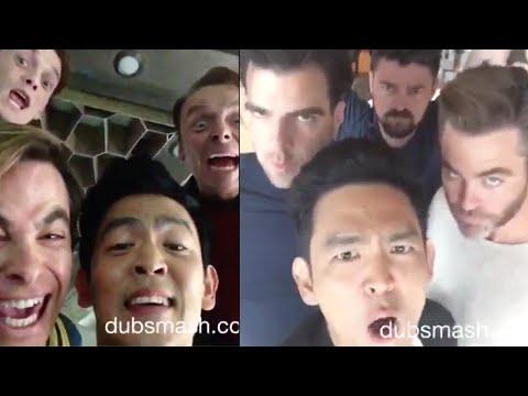 Star Trek Beyond Cast Dubsmash Compilation! (HQ)
