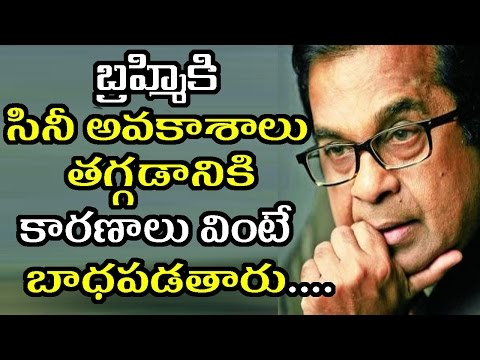 Thumbnail: Shocking Reasons Behind Brahmanandam Not Getting Chances In Movies|Filmy Poster