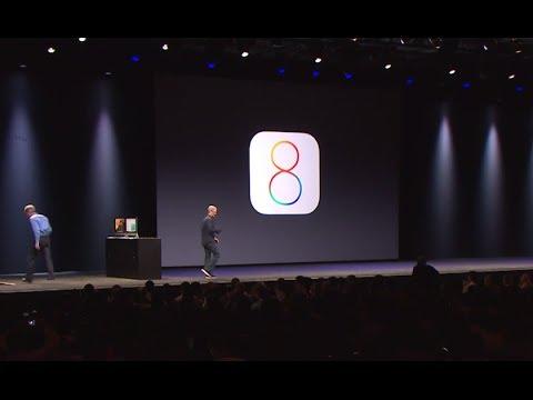 Apple WWDC 2014 - iOS 8 Introduction