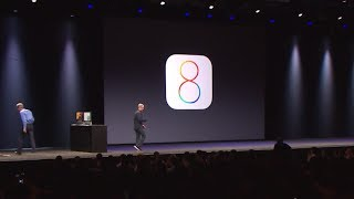 Apple WWDC 2014 - iOS 8 Introduction