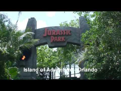 JURASSIC PARK - Theme Park  - Orlando