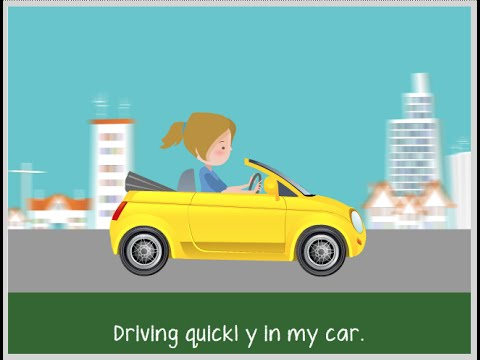 Driving | Adverbs | ESL Classics - songs for learning English