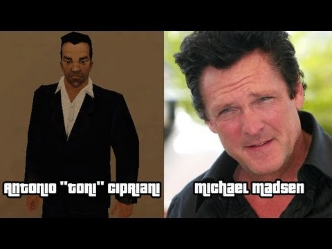 Characters and Voice Actors - Grand Theft Auto III