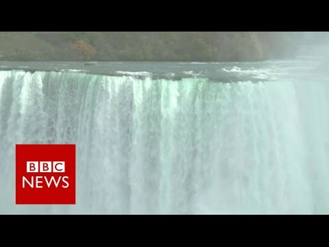 Views About DOnald Trump From The Canada Border - BBC News