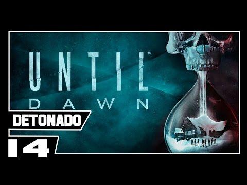 UNTIL DAWN - Detonado Dublado - Parte #14 - UMA TERRÍVEL MALDIÇÃO