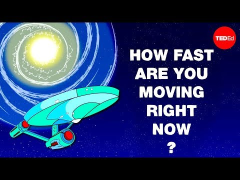 Video image: How fast are you moving right now? - Tucker Hiatt