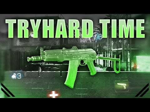 COD MWR Tryhard Time - AK74u Backlot