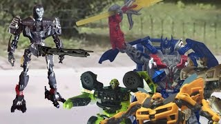 Transformers: Minutes of Extinction Stop Motion Parody (Legacy of SM contest winner)