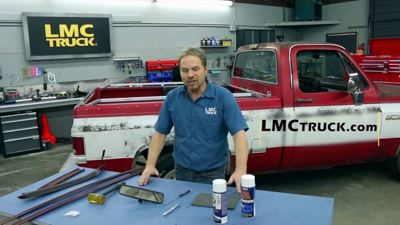 87 Chevy R10 Wiring Diagram Lmc Truck Chevy Gmc Truck Headliner Installation With