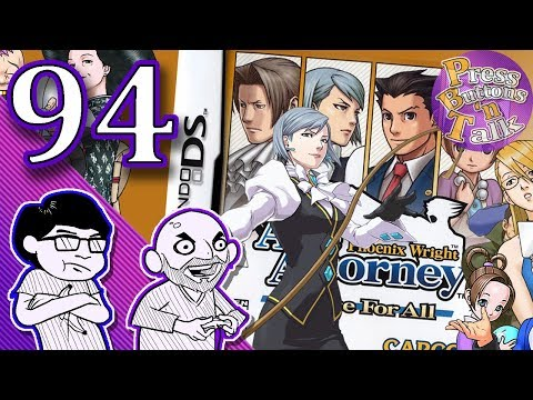Phoenix Wright: Justice for All, Ep. 94: PUZZLE TIME!!! - Press Buttons 'n Talk