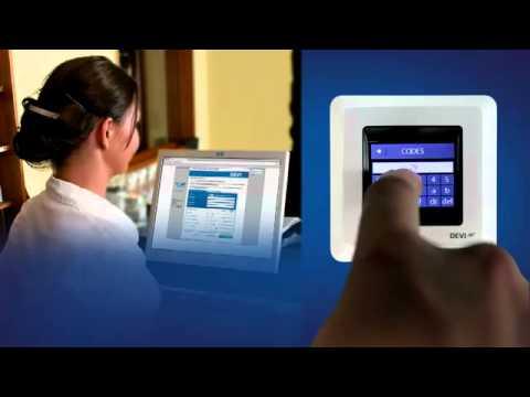 Thermostat devireg touch pour plancher rayonnant lectrique de youtube - Thermostat pour plancher rayonnant electrique ...