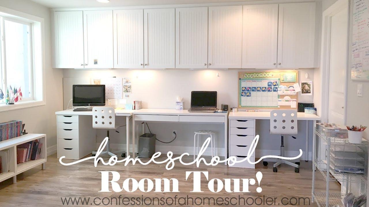 20172018 Homeschool Room Tour  YouTube