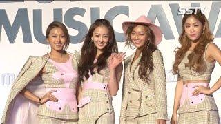[SSTV] 멜론뮤직어워드 씨스타(SISTAR), 레드카펫도 아찔하게~ '섹시미란 이런 것!'