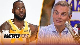 Colin Cowherd reacts to LeBron saying he doesn't need the preseason   NBA   THE HERD