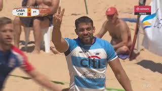 #JuegosPlaya2018 - PARTIDO COMPLETO - Catamarca vs CABA - FINAL - Rugby 5