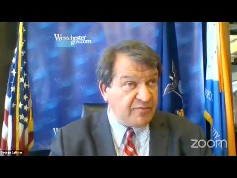 April 28: Westchester County Executive George Latimer Gives COVID-19 Update Virtually