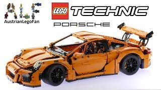 Lego Technic 42056 Porsche 911 GT3 RS - Lego Speed Build Review