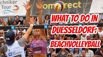 Top Sightseeing Spots Duesseldorf: Beachvolleyball (english)
