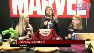 Fashion & Star Wars with Ashley Eckstein on Marvel LIVE! at San Diego Comic-Con 2015