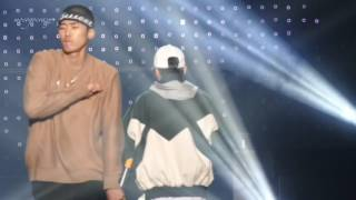 2016.12.22 1st Korea Hiphop Festival  해쉬스완 with Holmescrew sillyboot ,shupie Video