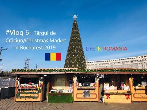 #Vlog 6- Târgul de Crăciun/Christmas Market in Bucharest 2019