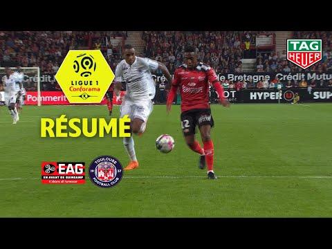 EA Guingamp - Toulouse FC ( 1-2 ) - Résumé - (EAG - TFC) / 2018-19