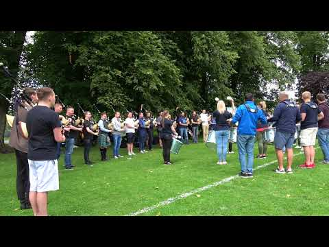 Worlds 2017 - Inveraray & District Pipe Band Final Practice - BOTH Medley finishes