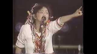 "REBECCA (レベッカ) ""MOTOR DRIVE"" 1987. 2/20 日本武道館にて ""SHOW T..."