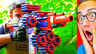 World's GREATEST NERF VIDEO GAMES in Real Life!
