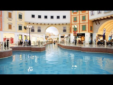 Shopping with Helen Ziegler and Associates at the Villagio in Doha, Qatar