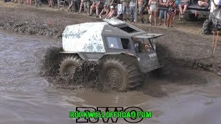 SHERP DESTROYS MUD TRUCK BOUNTY HOLE!!!