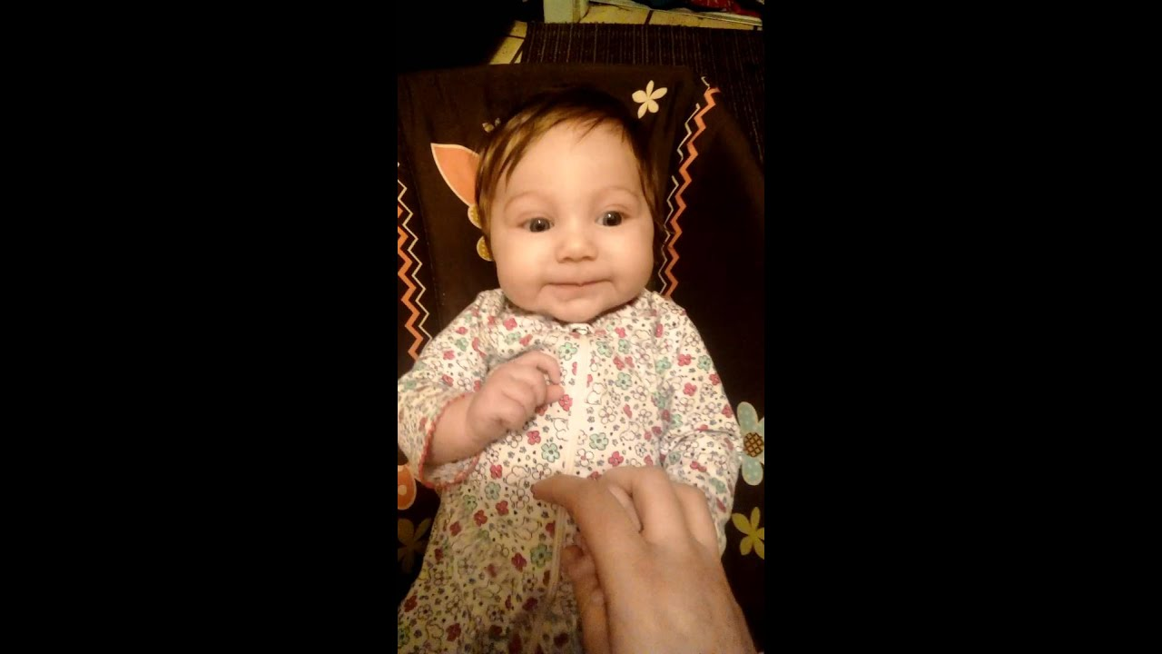 Baby L Saying I Love You Clear As Day 3 Months Old Youtube