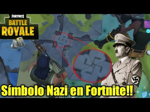 Símbolo Nazi en Fortnite...