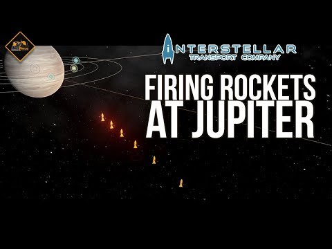 Launching Rockets to Jupiter | Interstellar Transport Compan