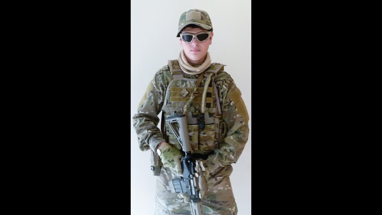 My New Multicam Airsoft Loadout - YouTube