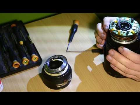 Nikkor AF-S VR 70–300 f/4.5–5.6G IF-ED disassembly, repair, read the description