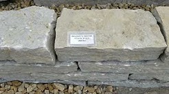 10 Natural Wall Stones Displayed with Weights