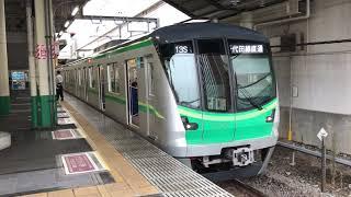 東京メトロ16000系16120F 各駅停車成城学園前行き 柏駅発車