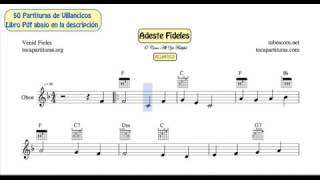 50 Partituras de Villancicos de Oboe Libro PDF con Acordes de Guitarra Y Piano Acompañamiento