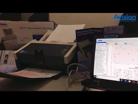 Avision Scanner AD240 + Software DMR LJK
