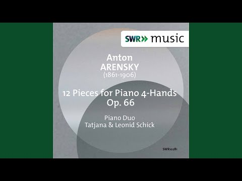 12 Pieces For Piano 4 Hands, Op. 66: No. 11. Berceuse