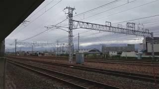 浸水は免れた長野総合車両センター、通常運行を行っている長野電鉄。(スマホ撮影)