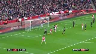 Video Gol Pertandingan Liverpool vs Arsenal